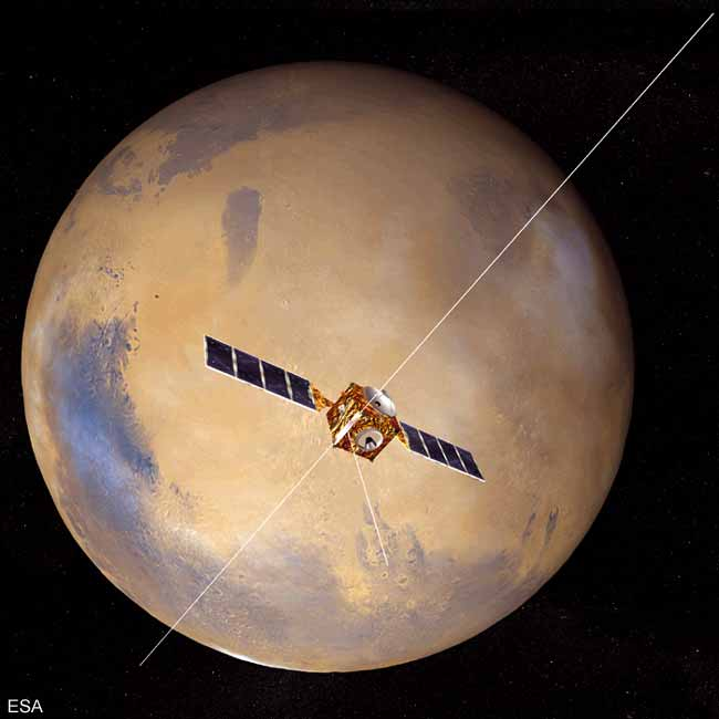 Europe's Mars Express and Beagle 2 Lander