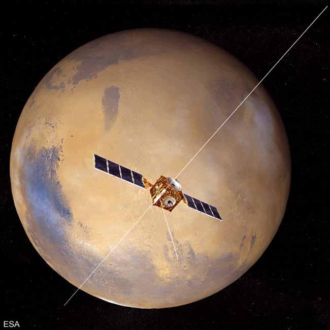 Europe's Mars Express and Beagle 2 Lander