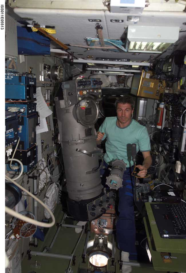 Space Station Crew to Ignite First Oxygen-Generating Candles