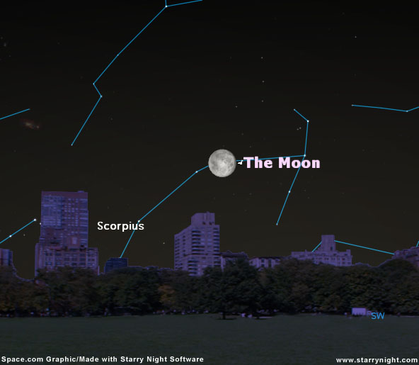 Moon to Block a Star May 24