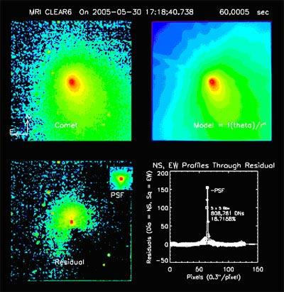 Deep Impact Sees Heart of Target Comet