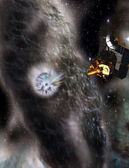 Deep Impact's Comet Tempel 1 Visit