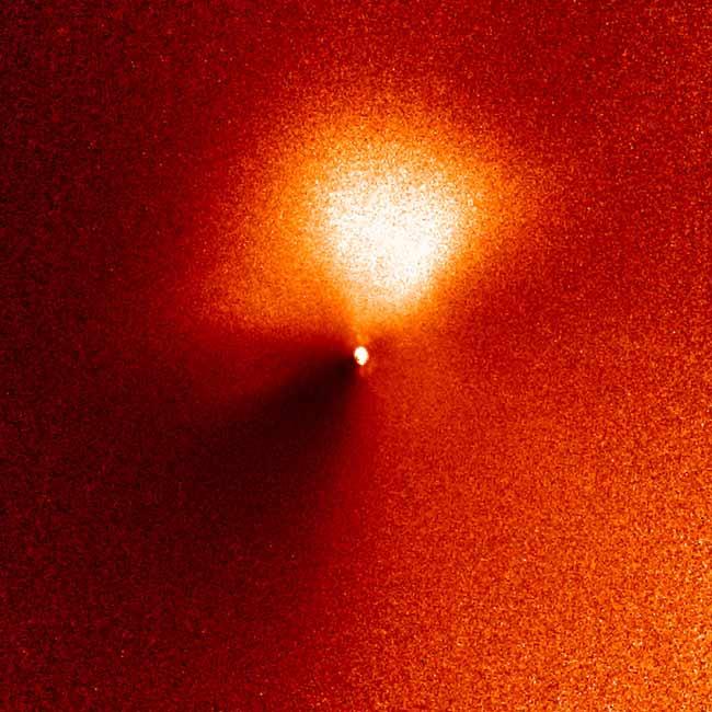 NASA's Deep Impact Spacecraft on Target for Comet Crash