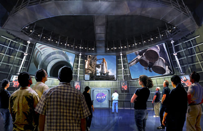 'Shuttle Experience' Exhibit at Kennedy Space Center