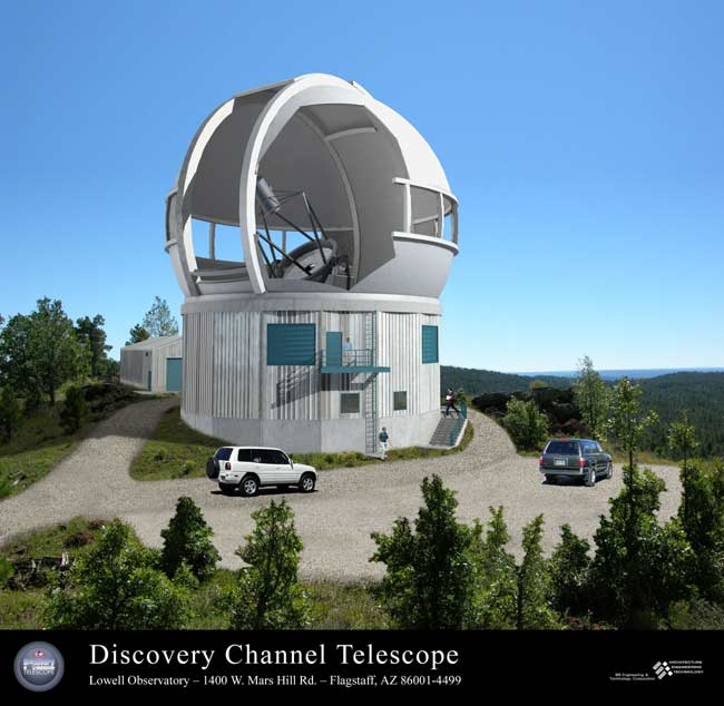 Media Meets Science: New Telescope a Team Effort