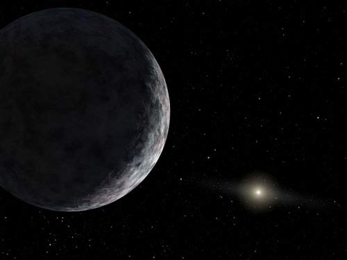 Signs of Weather Seen on Dwarf Planet