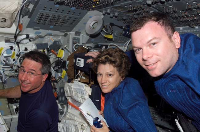 Launched 1st Female Shuttle Pilot & Commander