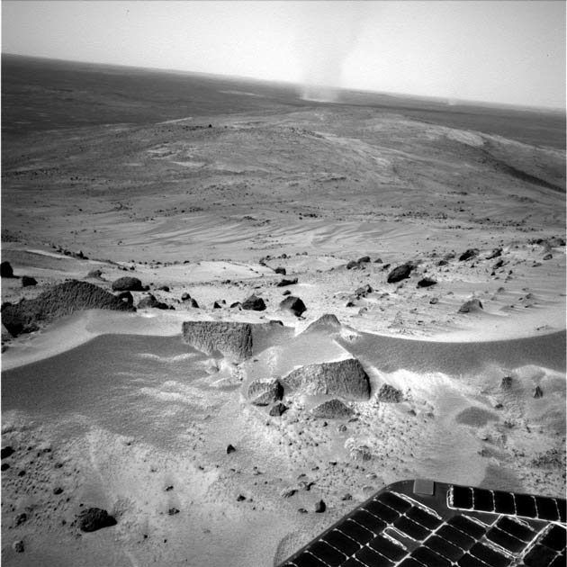 Mars Rover Reaches Summit, and the View is Spectacular