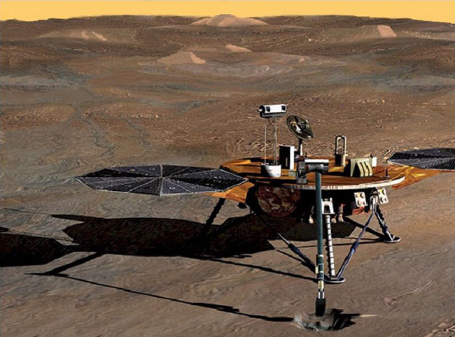 Phoenix Mars Lander: Strong Arming The Red Planet