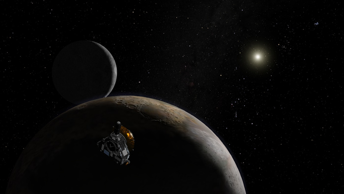 Pluto-Bound Probe Passes Mars' Orbit