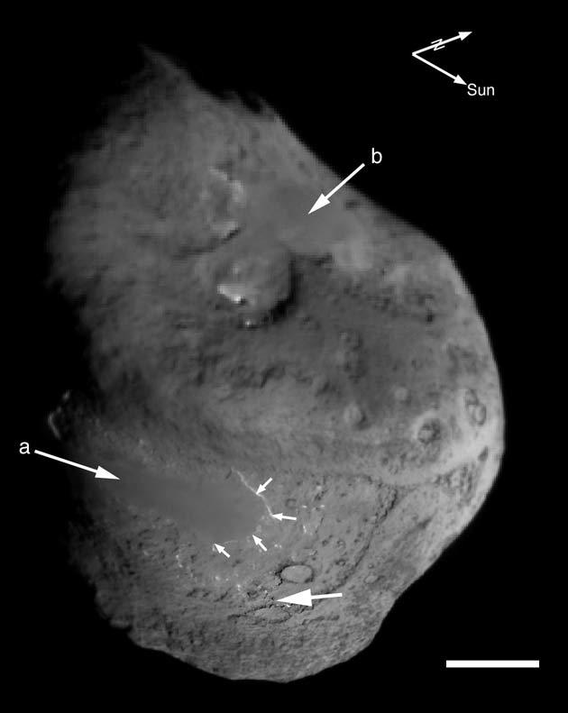 space probe comet impact - photo #22