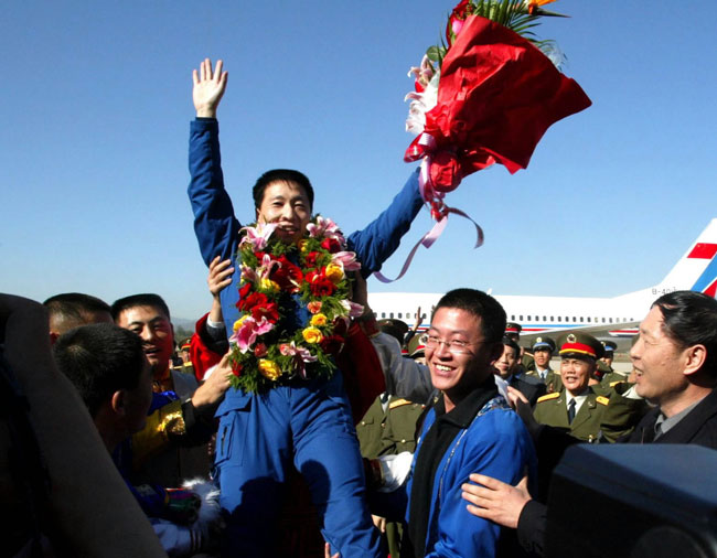 China's First Astronaut Will Not Fly on Shenzhou 6