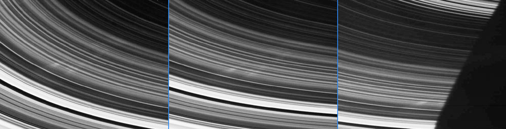 Cassini Probe Spies Spokes in Saturn's Rings