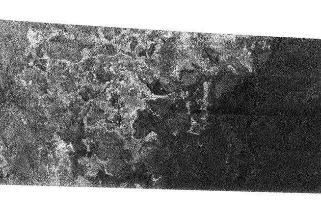 Shoreline Spotted on Saturn's Moon Titan