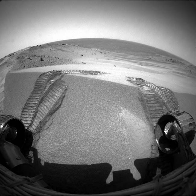 Summit Science: Spirit Rover Has a Field Day on Mars