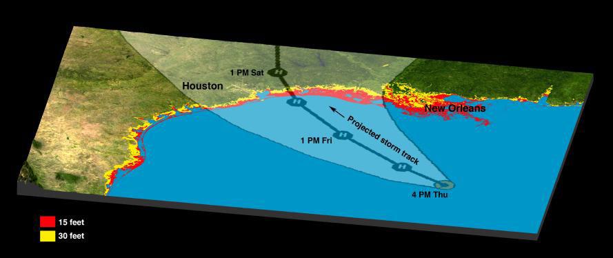 Three NASA Centers Prepare for Hurricane Rita