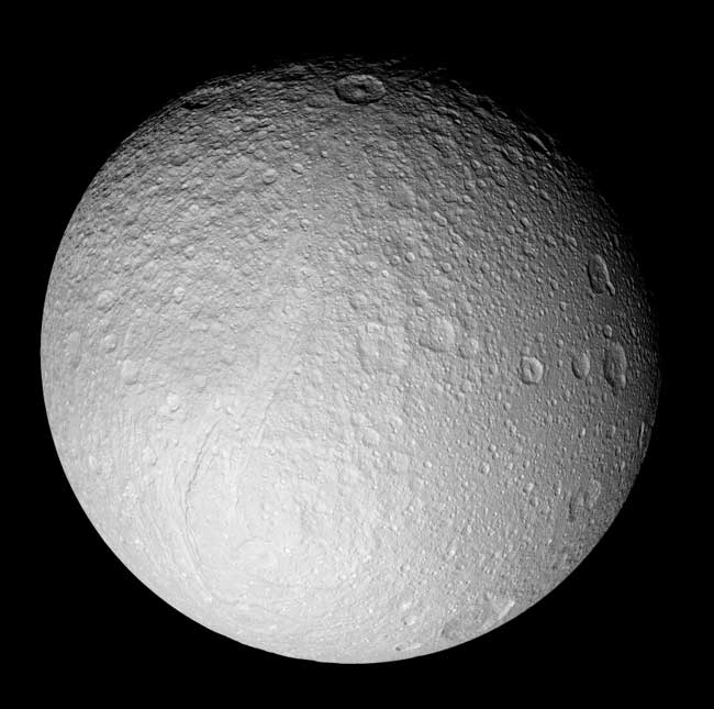 New Pictures of Saturn's Battered Moons