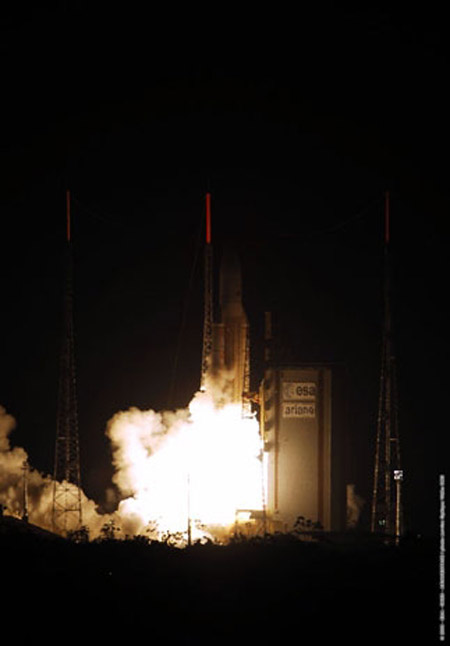 A Wet Tradition Returns to European Launch Facility