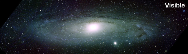 Small Galaxy Punches Hole In Andromeda