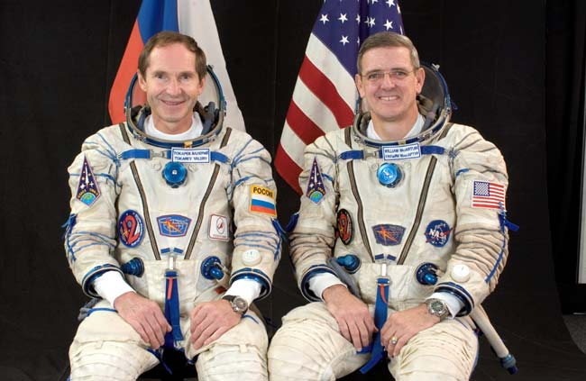 ISS Astronauts Settle in for Six Months in Orbit