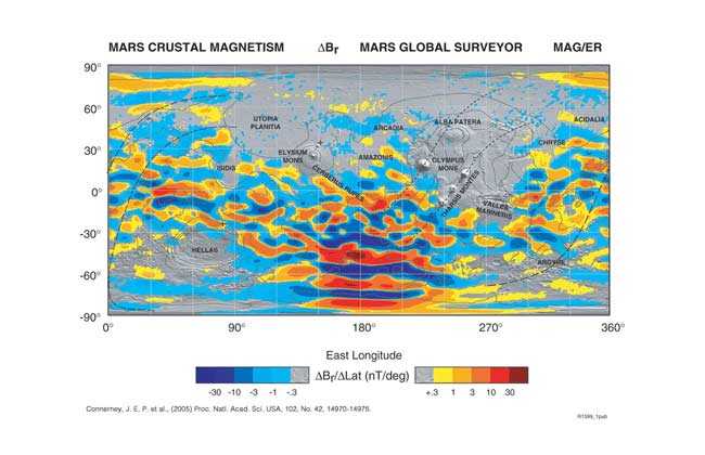 New Mars Map: Similarities to Earth Revealed