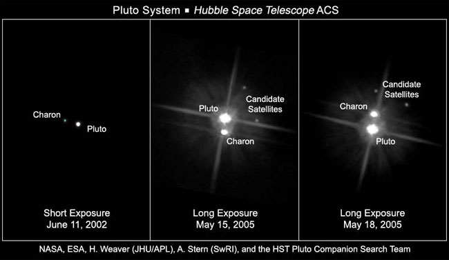 Pluto's Newest Moons Named Hydra and Nix