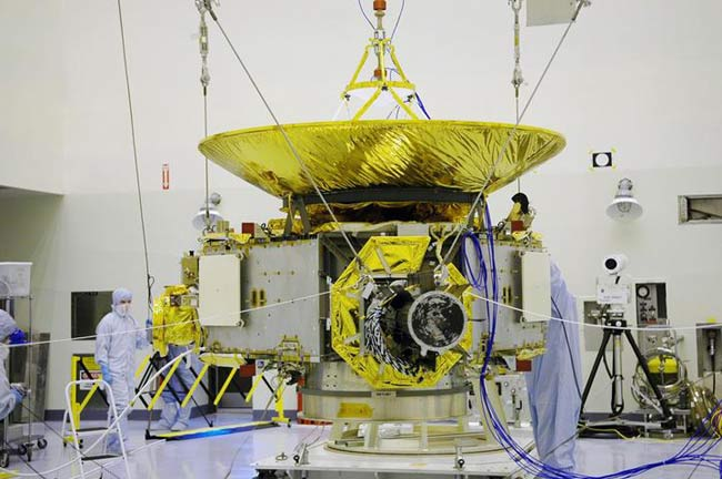 Hurricane Damage Prompts Booster Replacement for NASA's Pluto Probe