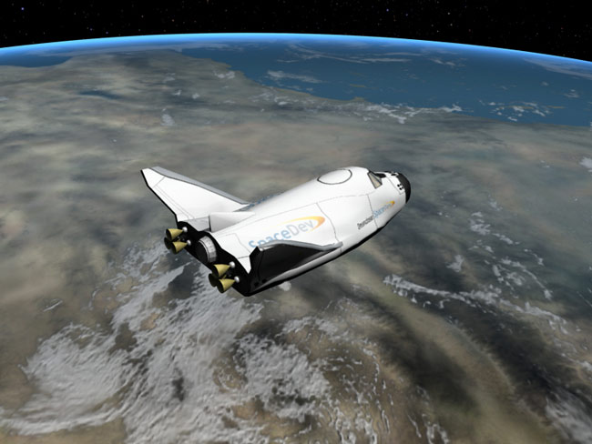 New Private Space Plane Has NASA Roots