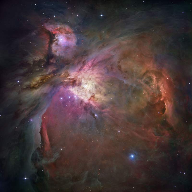 The Splendor of Orion: A Star Factory Unveiled
