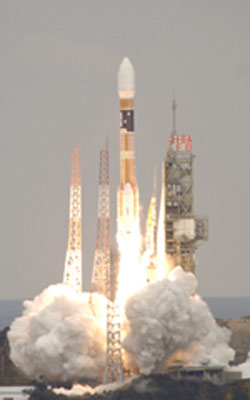 Japanese Earth Observing Satellite Begins Mission