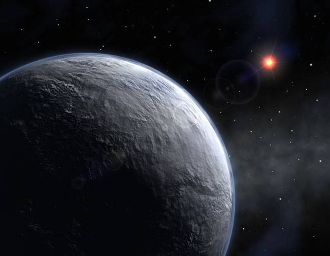 Small Rocky Planet Found Orbiting Normal Star