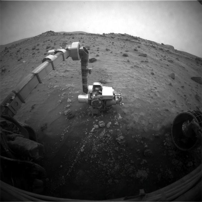 Mars Rover Blocked, Must Take Long Way Down