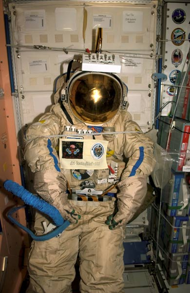 Russia's Orlan Spacesuit