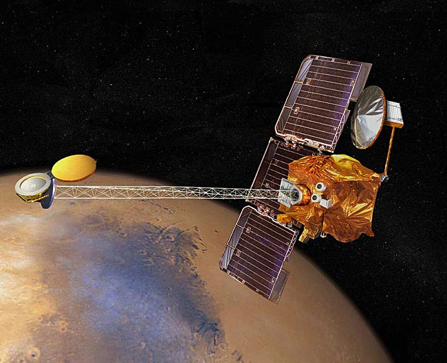 Spacecraft Orbiting Mars Suffers Malfunction