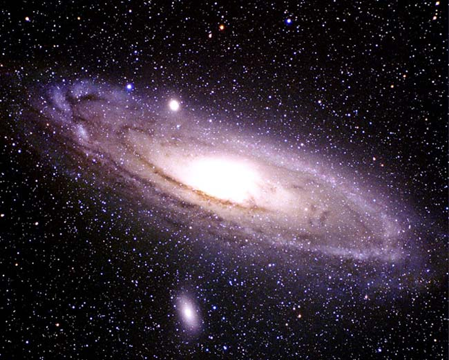 an analysis of features of the andromeda galaxy The andromeda galaxy (m31), with its large and diverse stellar population and chemical history and galactic structure similar to that of the milky way, is potentially a crucial calibrator for the.