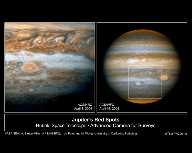 Jupiter's Small Spot Changes Hues