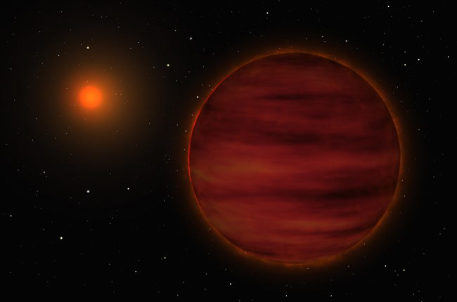 Newly Discovered Failed Star Added to Stellar Neighborhood