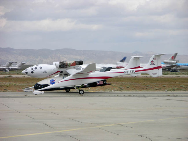 The X-37 Spaceplane to Fly At Mojave Spaceport