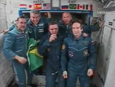 Brazilian Astronaut Celebrates Nation's Flight Centennial