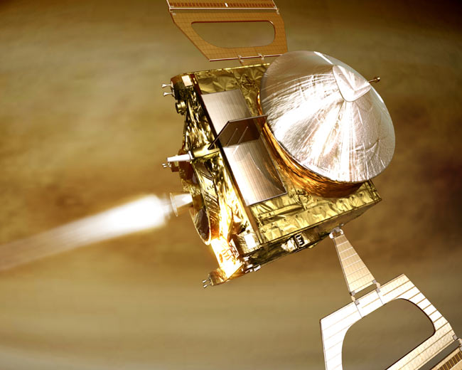 European Probe Reaches Final Orbit Around Venus