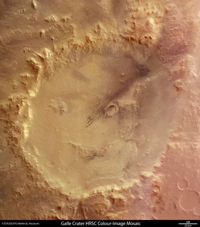 Happy Face on Mars Exposed