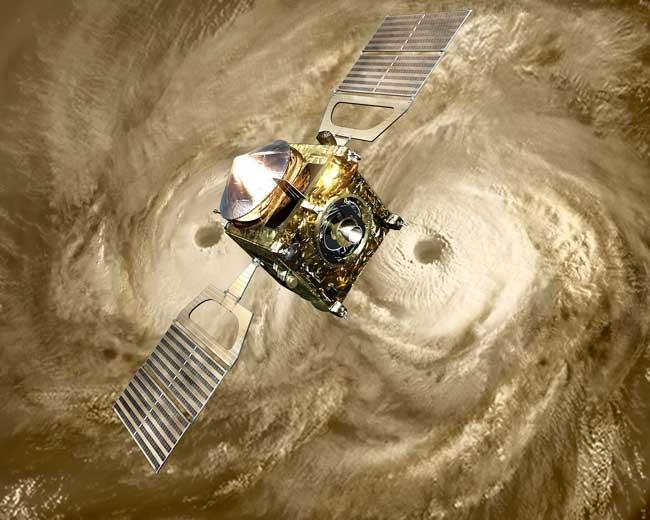 Second from the Sun: European Probe Enters Venus Orbit