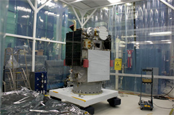 Mothballed Satellite Sits In Warehouse, Waits For New Life