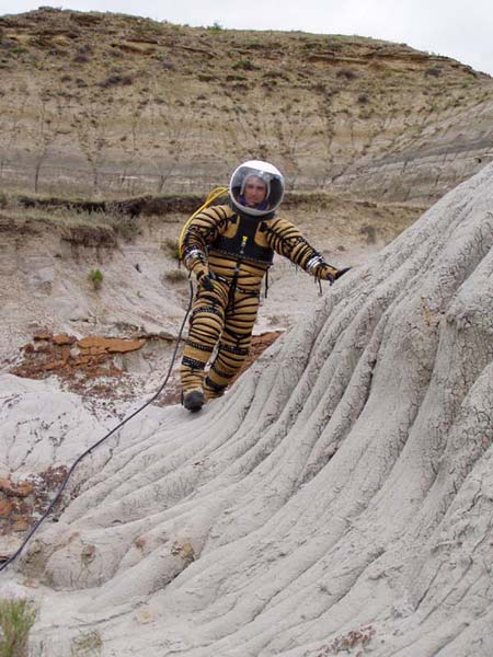 Mars Spacesuit Prototype Trials Underway in North Dakota