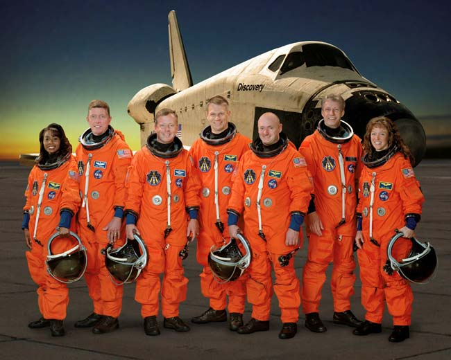 STS-121 Astronauts Train Hard for Shuttle Launch