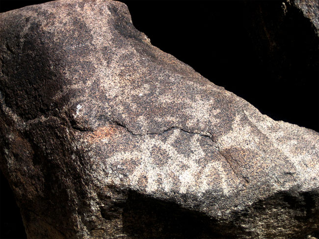 Ancient Rock Art Depicts Exploding Star