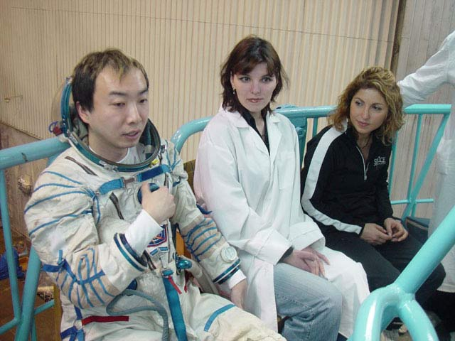 Japanese Space Tourist Pulled from ISS Flight for Medical Reasons
