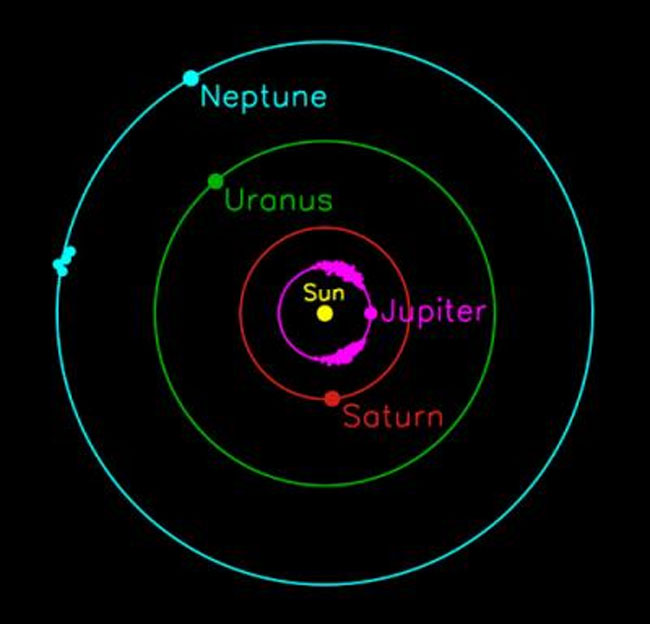 Neptune May Have Thousands of Escorts
