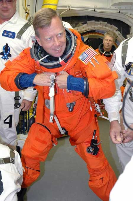 STS-121 Shuttle Commander: 'We're ready.'