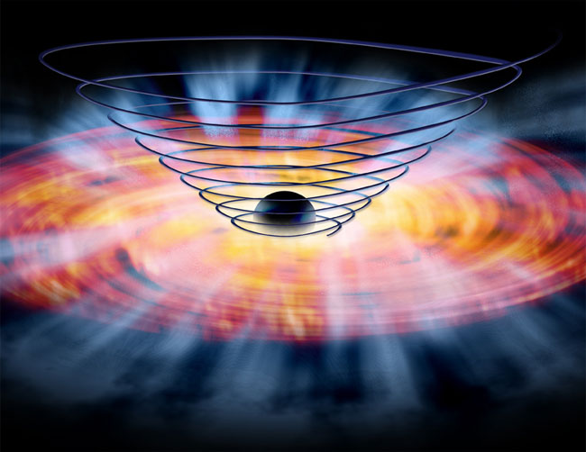 Magnetic Fields Nudge Matter Into Black Holes